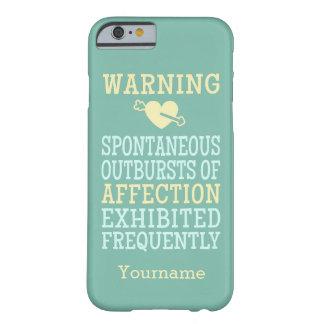 Uitbarstingen van de douanehoesje van de Affectie Barely There iPhone 6 Hoesje