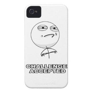 Uitdaging Toegelaten iPhone 4 Hoesje Meme