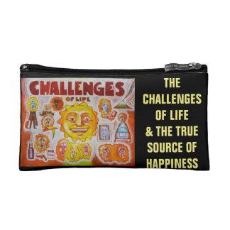 Uitdagingen van het leven - Stemmingen Makeupbag Make-up Bag