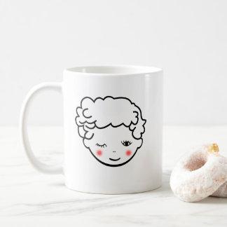 Uitdrukking van het Gezicht van het Baby van de Koffiemok