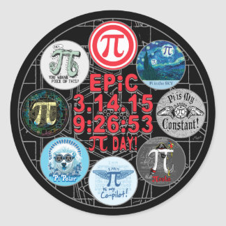 Uiteindelijk Gedenkteken voor de Epische Dag van Ronde Sticker