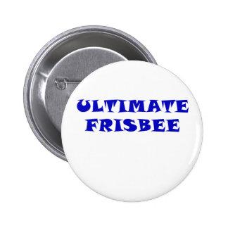 Uiteindelijke Frisbee Ronde Button 5,7 Cm