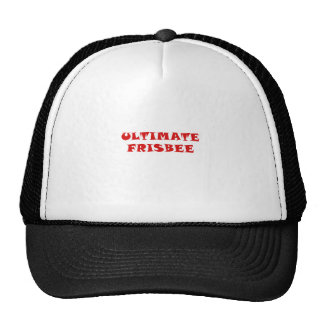 Uiteindelijke Frisbee Trucker Petten