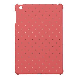 uiterst kleine faux nam het gouden patroon van iPad mini case