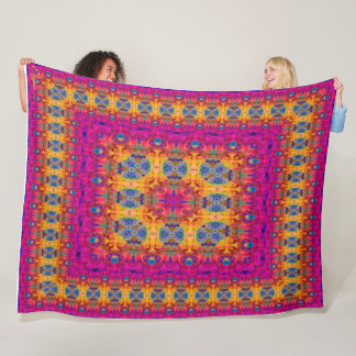 Uitgebreid genoegen fleece deken
