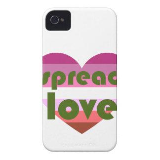 Uitgespreide Lesbische Liefde iPhone 4 Hoesje