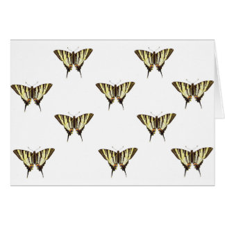 uitgespreide uit vlinders briefkaarten 0