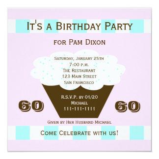 Uitnodiging 60 van de Partij van de Verjaardag van