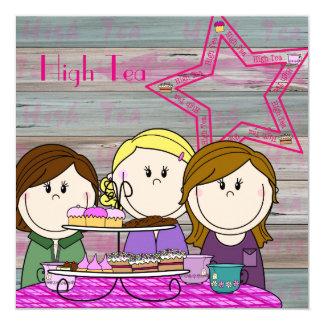 Uitnodiging - High Tea - Party Girls