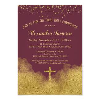 Uitnodiging van de Heilige Communie van Bourgondië