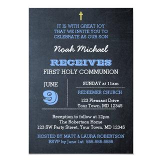 Uitnodiging van de Heilige Communie van het bord
