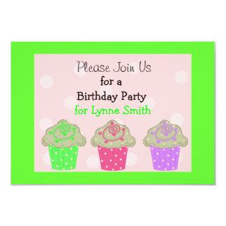 Uitnodiging van de Partij van de Verjaardag