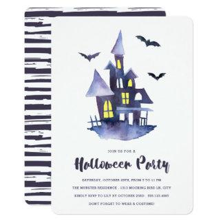 Uitnodiging van de Partij van Halloween van het Kaart