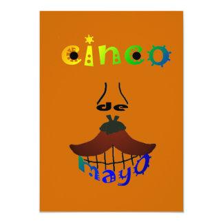 Uitnodiging van de Partij van het Man van Cinco DE