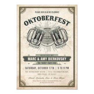 Uitnodiging | van de Partij van Oktoberfest