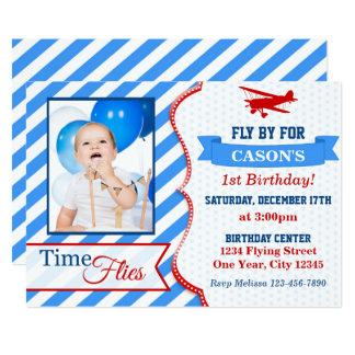 Uitnodiging | van de Verjaardag van het vliegtuig