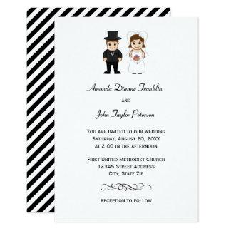 Uitnodiging van het Huwelijk van de bruid & van de