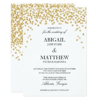 Uitnodiging van het Huwelijk van de Confettien van