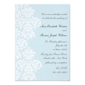 Uitnodiging van het Huwelijk van de Dekking van