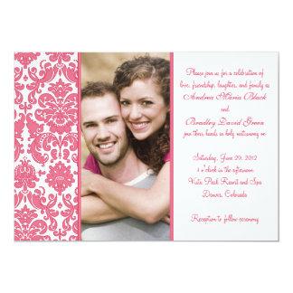 Uitnodiging van het Huwelijk van de Foto van het