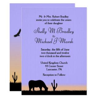 Uitnodiging van het Huwelijk van de schemering de