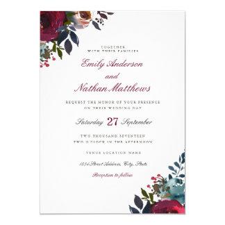 Uitnodiging van het Huwelijk van de Waterverf van