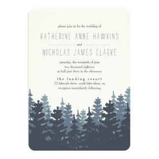 Uitnodiging van het Huwelijk van de winter de Bos