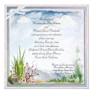 Uitnodiging van het Huwelijk van het Duin van het