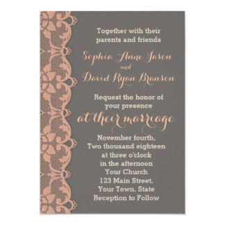 Uitnodiging van het Huwelijk van het Kant van de
