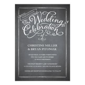 Uitnodiging van het Huwelijk van het Manuscript va