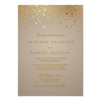 Uitnodiging van het Huwelijk van het Stip van de 12,7x17,8 Uitnodiging Kaart