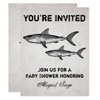 Uitnodiging van het Strand van het Baby shower van