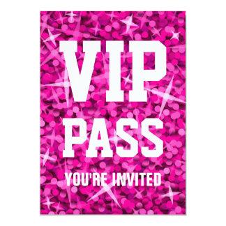"""Uitnodiging VIP van Glitz de Roze van de """"PAS"""""""