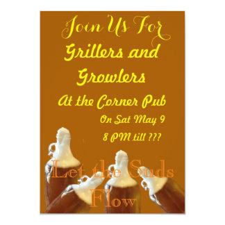 Uitnodiging voor Grillers en van Ijsschotsen