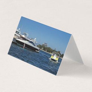 Uitnodigingen 2 van de boot