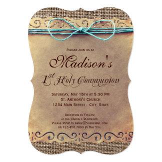 Uitnodigingen van de Heilige Communie van het