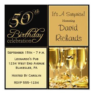 Uitnodigingen van de Partij van de Verjaardag van