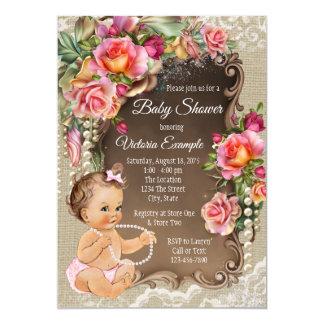 Uitnodigingen van het Baby shower van de Parel van