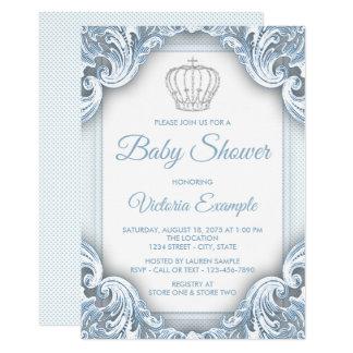 Uitnodigingen van het Baby shower van de Prins van