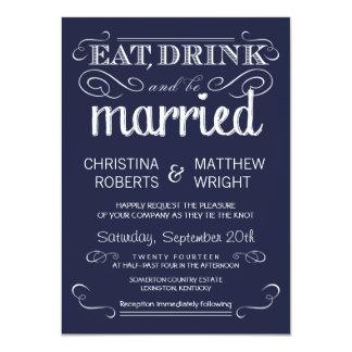 Uitnodigingen van het Huwelijk van de rustieke