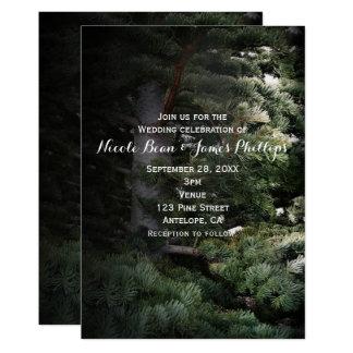 Uitnodigingen van het Huwelijk van het Bos van de