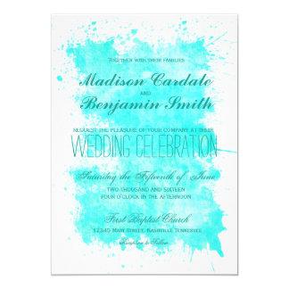 Uitnodigingen van het Huwelijk van het Strand van