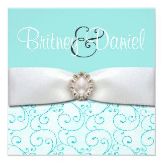 Uitnodigingen van het Huwelijk van Tiffany de