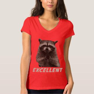 Uitstekende Kwade het In kaart brengen Wasbeer T Shirt