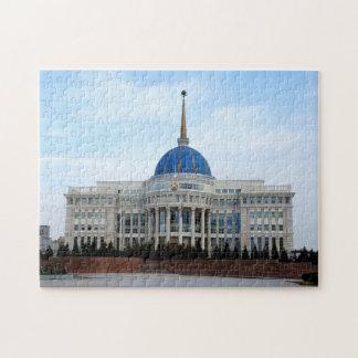 Uitzicht aan het paleis van het President in Legpuzzel