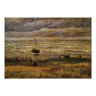 Uitzicht het Fine Art. van van het Zee, Poster