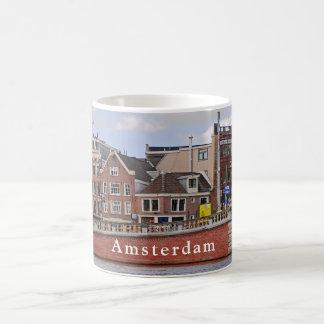 Uitzicht van Amsterdam op het gebied van de Koffiemok
