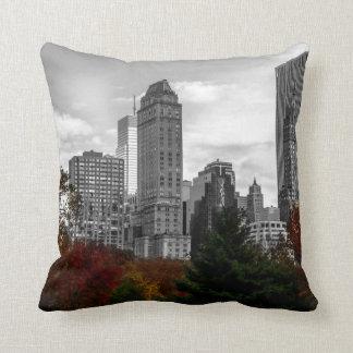 Uitzicht van Central Park in de Stad van New York Sierkussen