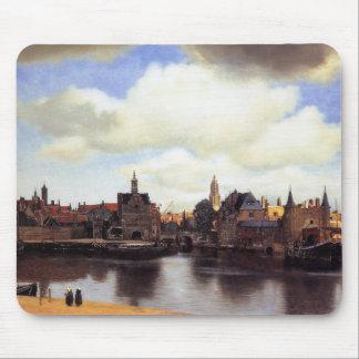 Uitzicht van Delft Muismat