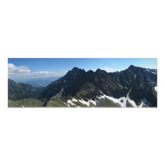 Uitzicht van Koprowa Pas, Tatras Foto